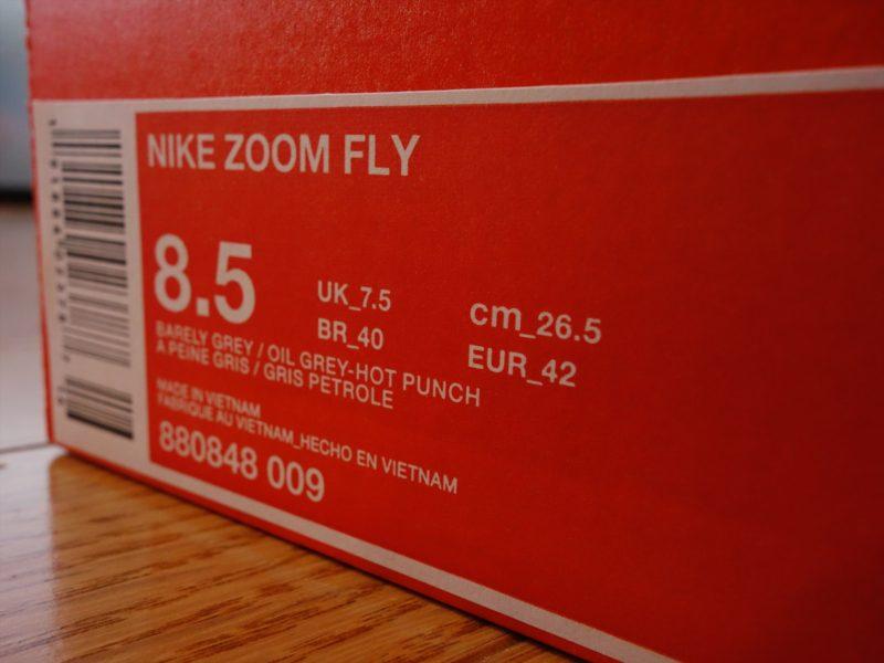 5e0c4d5e1479d NIKE ZOOM FLY 26.5cm. ナイキ ズームフライ 880848-009