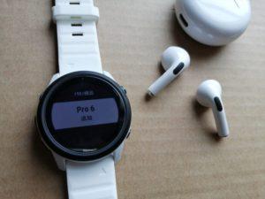 Bluetooht イヤフォン Pro6 16 1 300x225 - Garmin ForeAthlete 745 で中華 Bluetooth イヤフォン Pro 6 を使ってみる